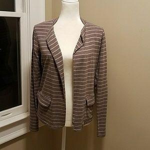 Anthropologie Dolan lightweight striped blazer